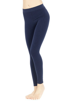 Leggings push up blu
