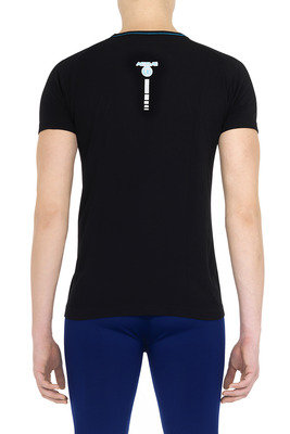 T-Shirt uomo Active Up nero