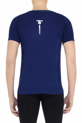 T-Shirt uomo Active Up blu