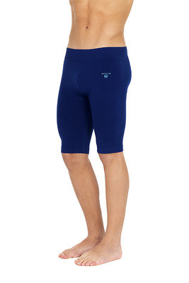 Pantalone ciclista Active Up uomo blu