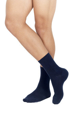 Men Cotton Socks Blue