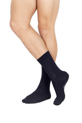 Short Socks Piquet X2 Anthracite