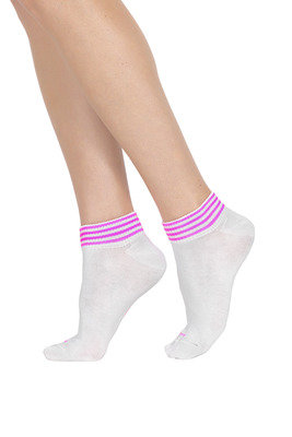 Socks Active Up Move White/Pink