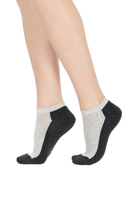 Mini Socks Melange Dark grey
