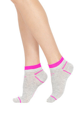 Socks Active Up Run Melange grey/pink