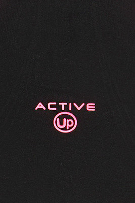 Top Active Up nero e rosa