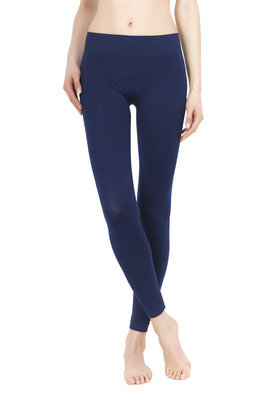Leggings Color Comfort blu
