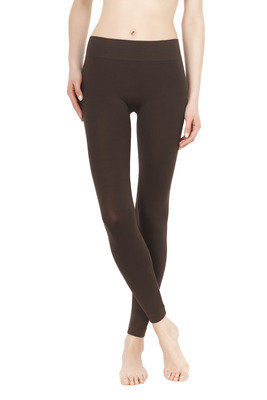 Leggings Color Comfort marrone testa di moro