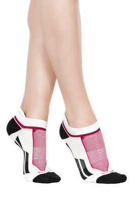 Mini Socks Active Fit white/black