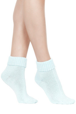 Socks Morbidella light blue