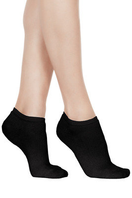 Women Mini Socks hot cotton black
