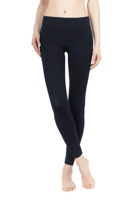 Leggings Color Comfort blu di Prussia
