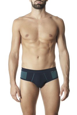 Briefs cotton Jimmy blue and green