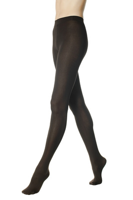 Tights cotton Soft Look brown