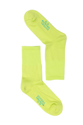 Calzino cotone UNISEX Run For Fun giallo
