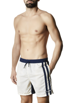 Men's Pascal blue and white swimming shorts