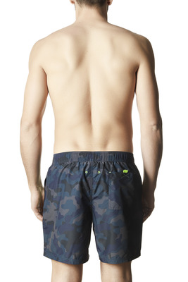Men's Mickael camouflage pattern swimming shorts
