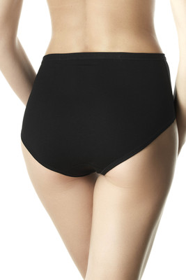 briefs Midi Cotton Black