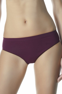 Red wine microfibre briefs Feel