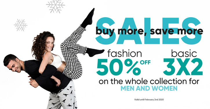 Winter Sales on Pompea, discover all sales