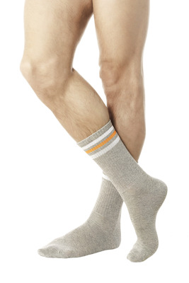 Mélange grey cotton UNISEX sports socks Jole